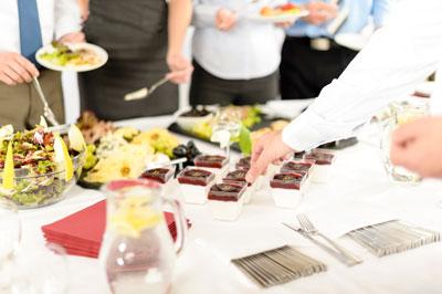 Catering und Gastronomie für Hochzeit, Messe. Events in Leipzig